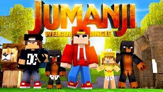 Minecraft Adventure - JACK & DONUT THE DOG GET SUCKED INTO JUMANJI!!