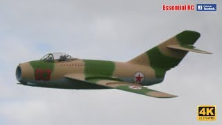 SCALE RC Mikoyan-Gurevich MIG-15 TRANSONIC FIGHTER JET (Global Jet Club) [*UltraHD / 4K*]