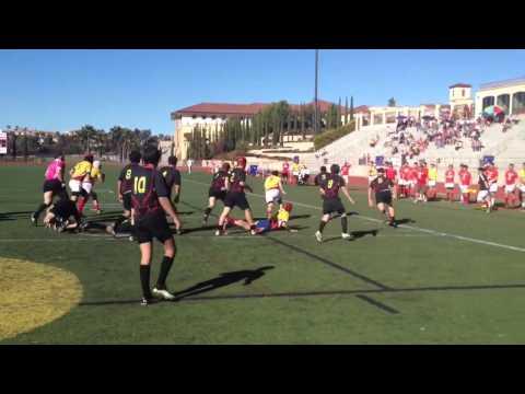 Top San Diego High School Rugby teams Torrey Pines vs Cathedral