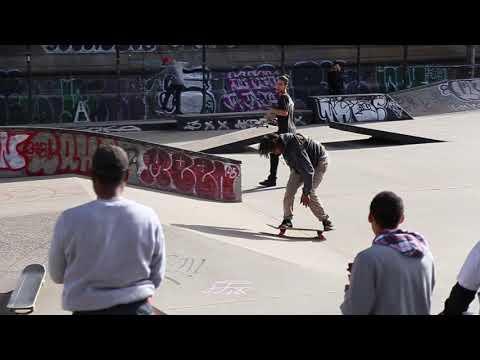 Derek Holmes 9 Piece at LES Skatepark