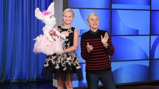 'America's Got Talent' Winner Darci Lynne Leaves Ellen Speechless