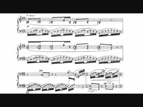 Ravel - Jeux d'eau, Sheet Music + Audio