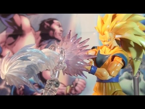 R190 Bandai S.H. Figuarts Dragon Ball Z Super Saiyan 3 Son Gokou Action Figure Review