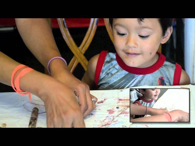 Making Dragonfly Magnets (Aug Green Kid Crafts)