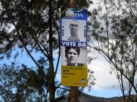 Barrydale - South Africa - Local Government Elections May 2011