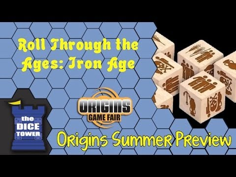 Origins Summer Preview: Roll Through the Ages: Iron Age