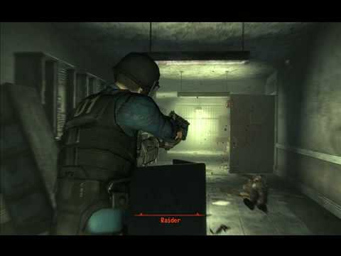 Fallout 3(pc) action packed video!