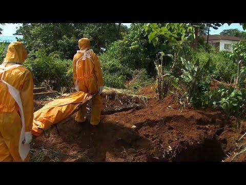 Sierra Leone: un cimetière accueille les victimes d'Ebola