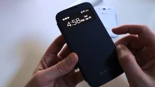 Quick Look_  Samsung Galaxy S4 S View Flip Cover