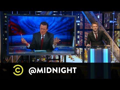 Stephen Colbert Introduces #HashtagWars - #NYCIn3Words - @midnight