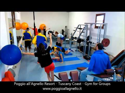 Poggio all'Agnello Resort - Tuscany Coast - Gym for Sport Groups