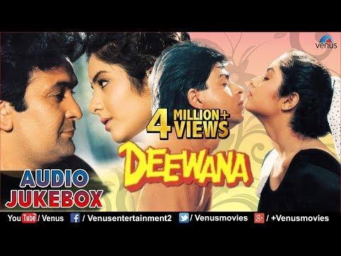 Deewana Audio Jukebox | Shahrukh Khan Rishi Kapoor Divya Bharti...