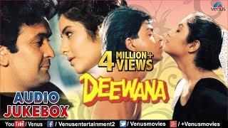 Deewana Audio Jukebox | Shahrukh Khan, Rishi Kapoor, Divya Bharti |