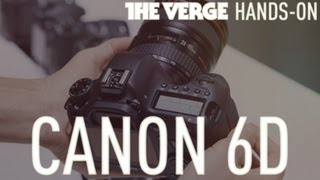 Canon 6D full frame DSLR hands-on demo