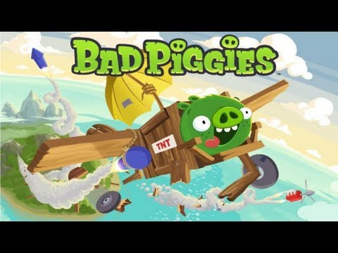 Let's Play Bad Piggies - Episode 1   Ground Hog day - Levels 1-4