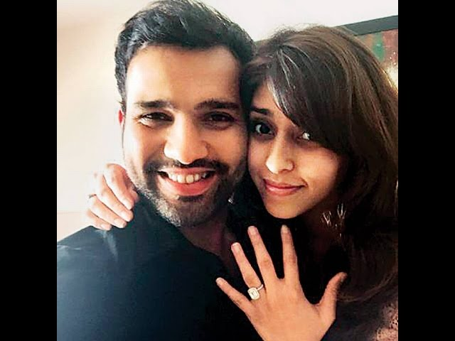 Rohit Sharma gets engaged to sports manager Ritika