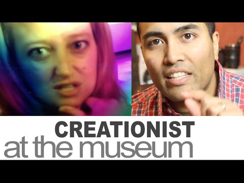 Creationist At The Museum - Let's Send A Message! video