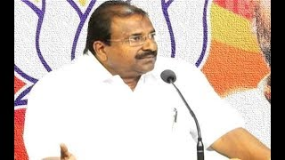 BJP MLC Somu Veerraju press conference LIVE