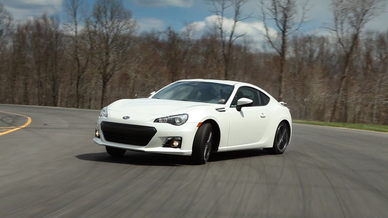 2013 Subaru BRZ first look from Consumer Reports - YouTube
