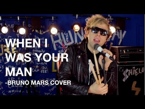 WHEN I WAS YOUR MAN Bruno Mars Rock Cover Shields Brothers