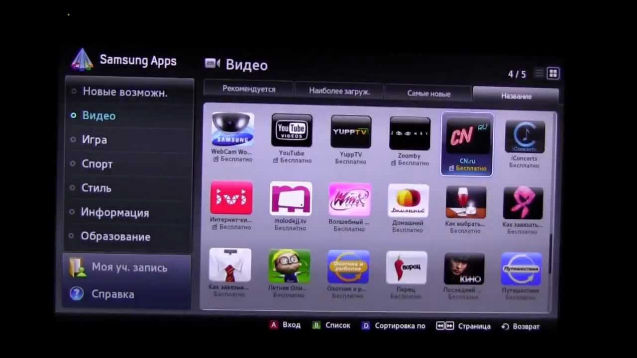 SMART TV SAMSUNG - Настройка IPTV на Smart HUB