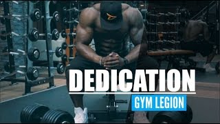 DEDICATION Aesthetic Fitness Motivation