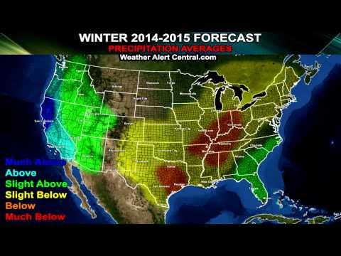 Winter Forecast 2014-2015 USA