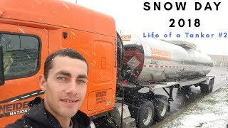 Tour of my Ride - Snow Day | Stuck in Kentucky - Life of a Tanker #2