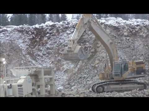 CAT 365CL In A Quarry