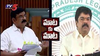 టీడీపీ-బీజేపీ మధ్య మాటల యుద్ధం..! | BJP and TDP War Of Words