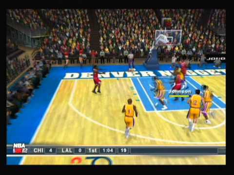 NBA 2k12 Ps2 Gameplay