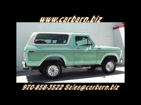Video Walkaround of my clean, classic Ford Bronco. Stock #10858 http://www.carbarn.biz.