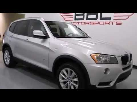 2013 BMW X3 Dallas TX 75207