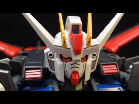 MG Aile Strike Gundam (1: Intro) Gundam Seed Kira Yamato Gunpla plastic model review ガンプラ