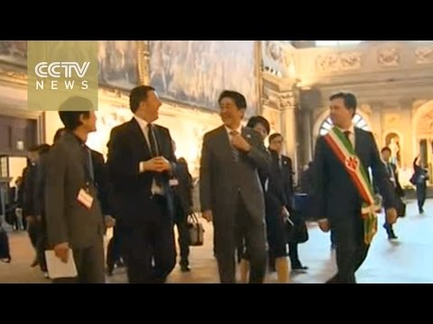 Japanese PM meets Italian counterpart in Florence