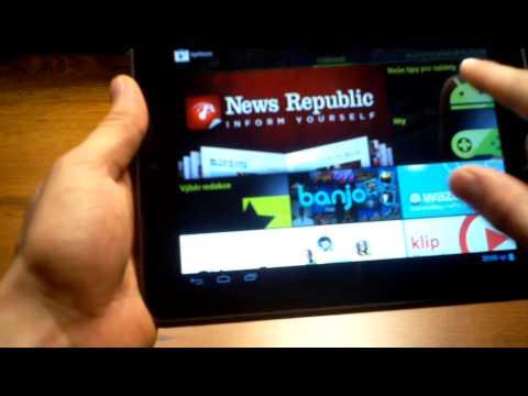 Nextbook Premium 8SE - videorecenze (review) CZ