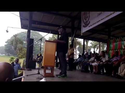 Vanuatu PM Speach on West Papua National Day Celebration in Vanuatu 1rd Dec 2014 01