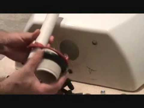 How do you repair a cracked toilet?