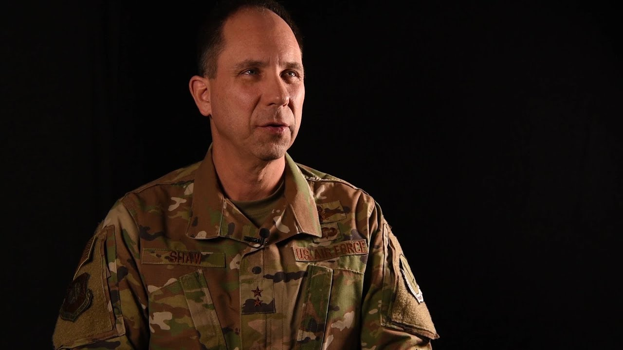 AFSPC Deputy Commander Maj. Gen. John Shaw talks ideas, inspiration, and the Gen. Bernard A. Schriever Memorial Essay Contest.  (U.S. Air Force video by Master Sgt. David Salanitri)