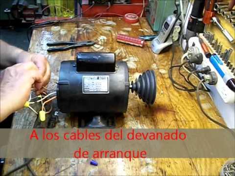 Cambio de rotación de un motor con un Switch sencillo