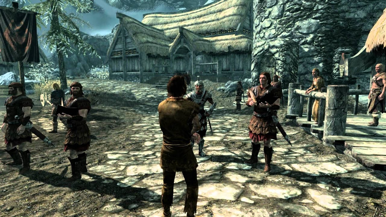 Max Settings Skyrim Skyrim pc Gameplay Max