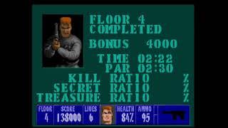 Generic Gameplay Series #13: Wolfenstein 3D (Part 6) (I Am Death Incarnate) (No Commentary)