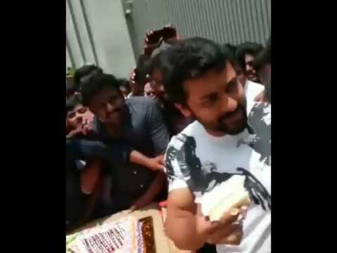 Actor Surya Celebrate His Birthday with His Fans @Home |  Surya Jyothika