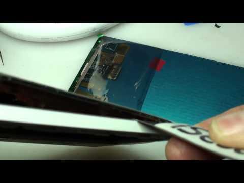 samsung note 4 sostituzione vetro con touchscreen ed lcd rotto
