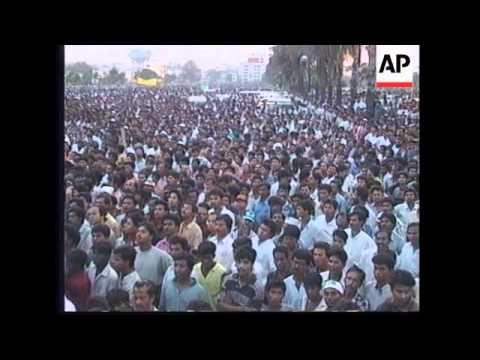BANGLADESH: ELECTION CAMPAIGN RALLY