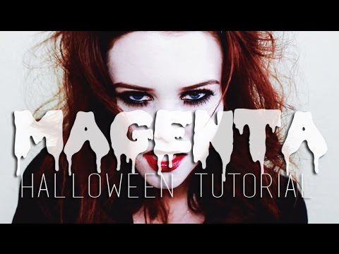 MAGENTA | ROCKY HORROR HALLOWEEN TUTORIAL