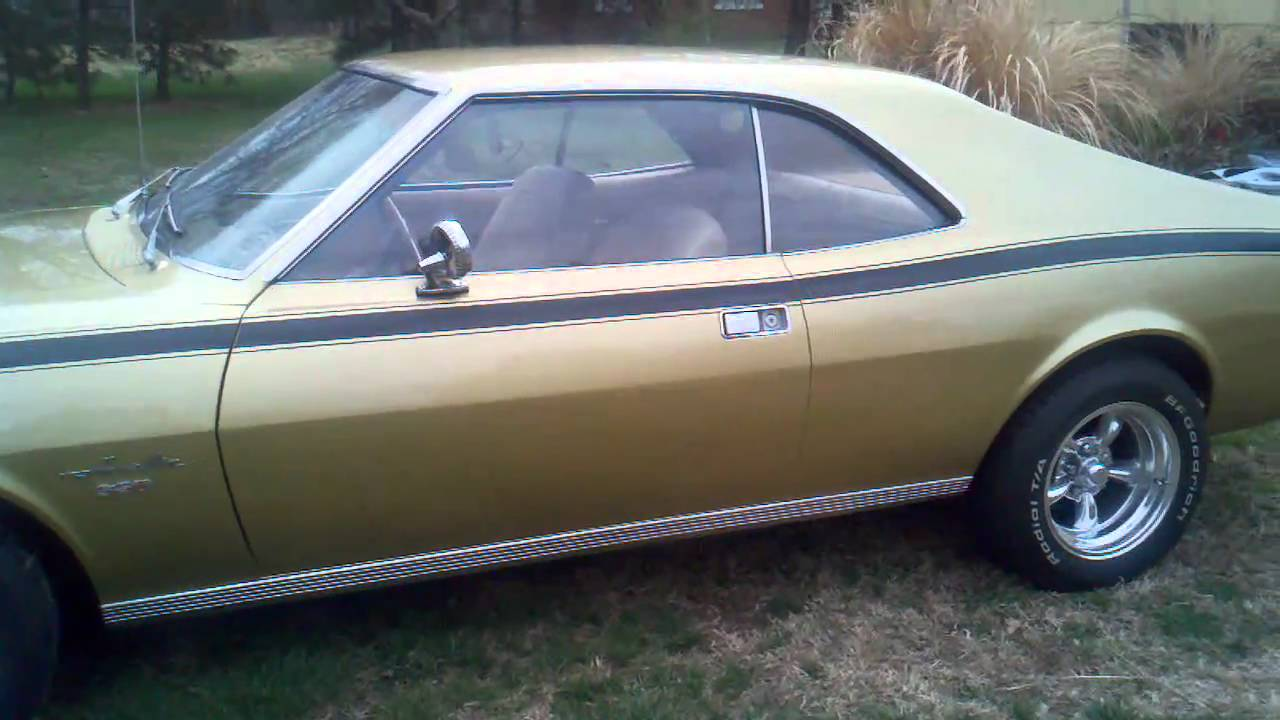 1968 American Motors Amc Javelin Youtube