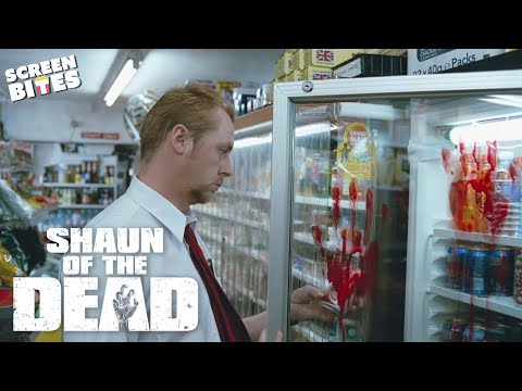 Shaun Of The Dead - Zombies, what zombies? Simon Pegg, Nick Frost, Edgar Wright