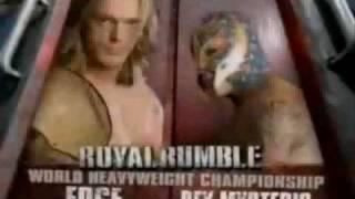 Royal Rumble 2008 Match Card