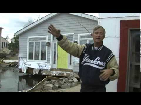 Breezy Point Video of Fire + Flood Aftermath following Hurricane Sandy Nov 3 2012